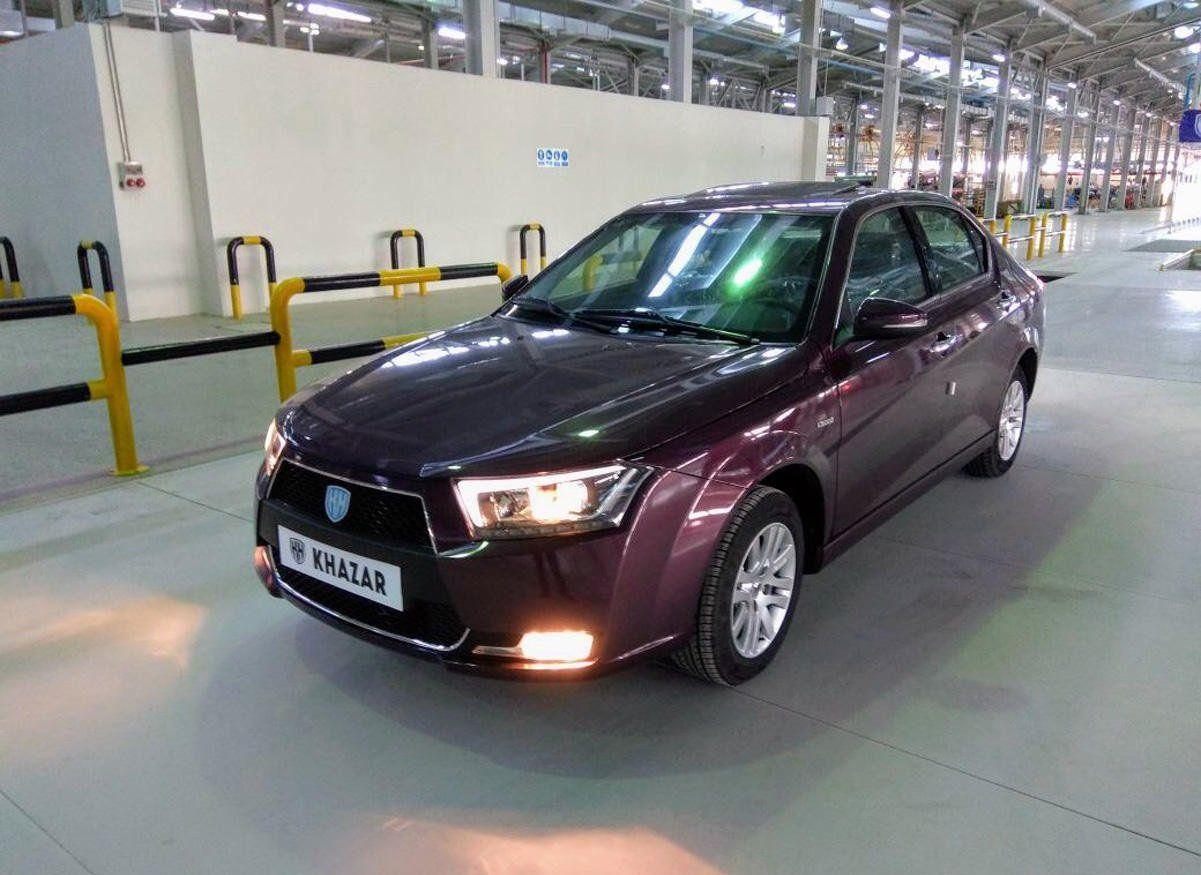 На русском рынке могут появиться новые азербайджанские седаны компании Khazar