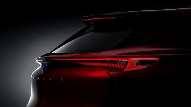 1-ый тизер концепта Buick Enspire
