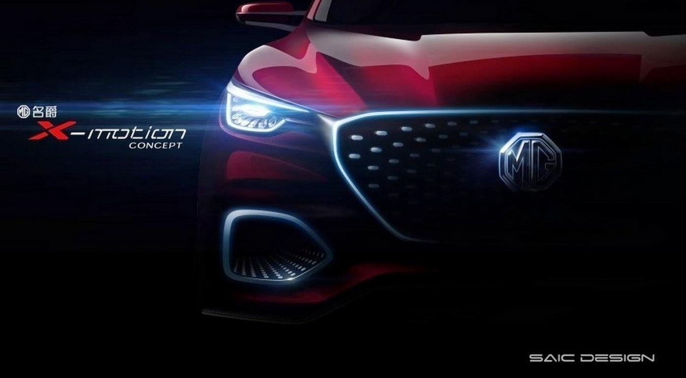 MGпредставила концептуальный автомобиль нового джипа X-motion