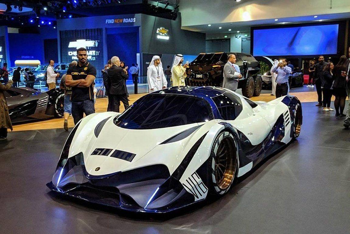 Шикарный суперкар Devel Sixteen презентован на видеоролике