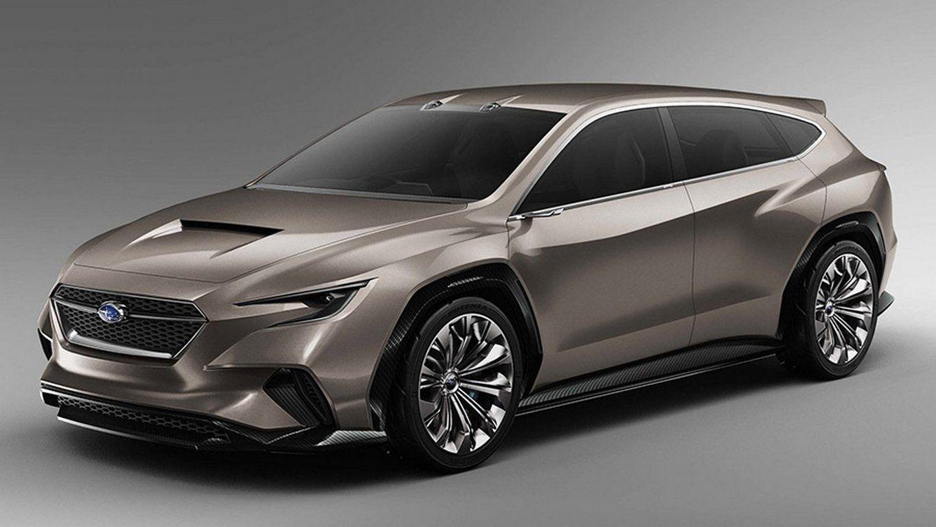Субару выпустит новый гибридный автомобиль Evoltis