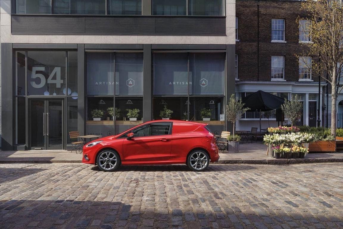 Ford Fiesta превратили вразвозной фургон class=