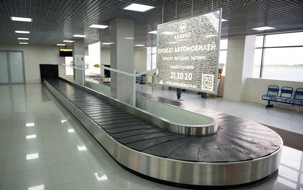 лента транспортер в аэропорту