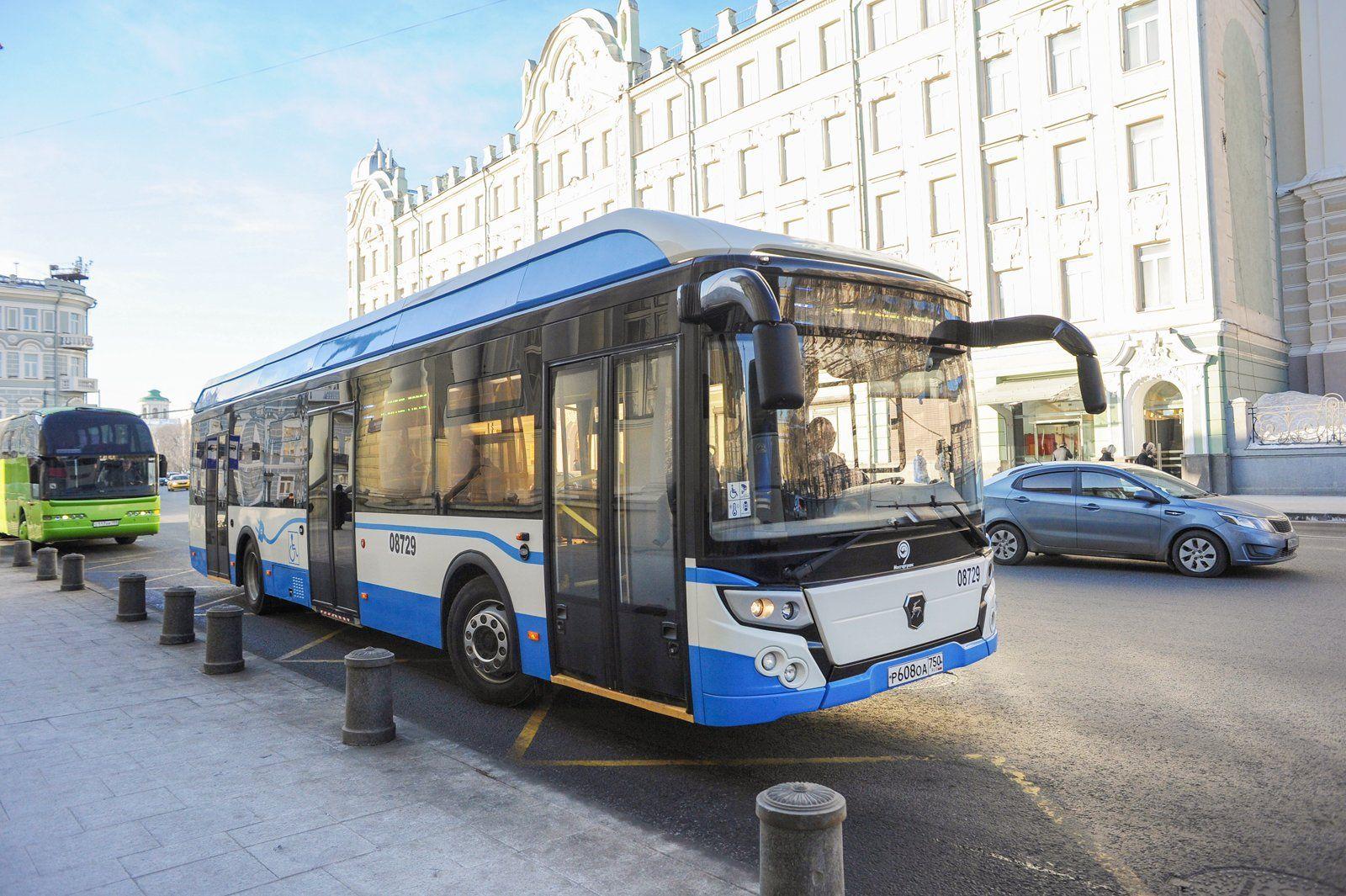 К 2030-ому году в столицеРФ будет ходить только электрический публичный транспорт