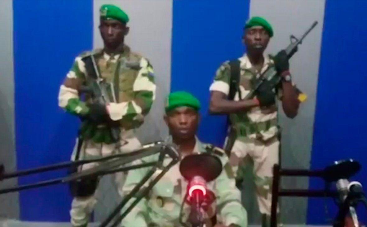 ВГабоне военные захватили государственную радиостанцию