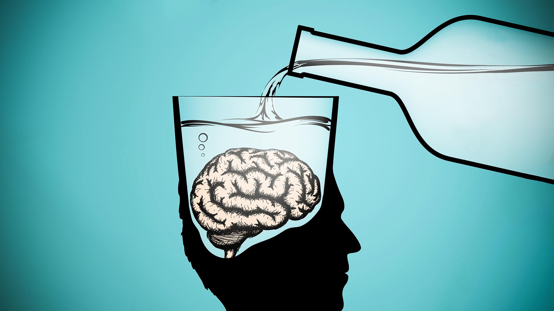 картинки алкоголя на мозг