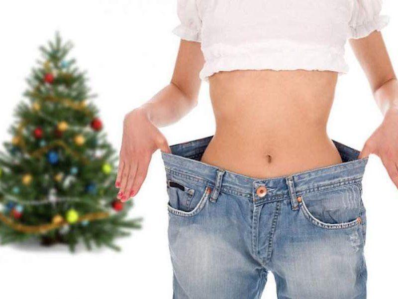 Похудение за новогодние праздники