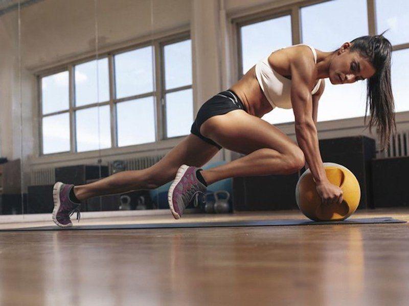 Сбросить лишний вес в спортзале